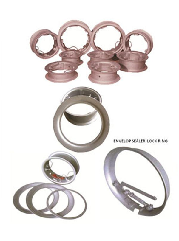 Curing RimsEnvelope Sealer Lock Ring