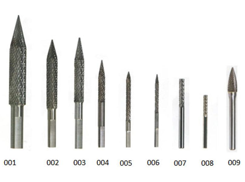 DIAMOND CUT CARBIDE BURRS
