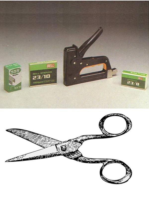 GUN TACKER  STOPPER PIN 23  12  SCISSORS